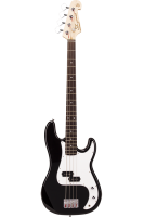 SX Bass Guitar 4 String PB Style Black