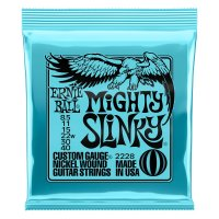 Ernie Ball Mighty Slinky Nickel Wound Guitar String 8.5-40 Gauge