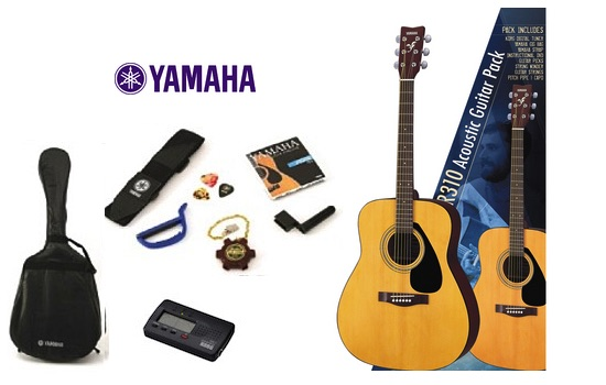 Yamaha F310P Gigmaker310 Steel String Acoustic Guitar Pack Yamaha