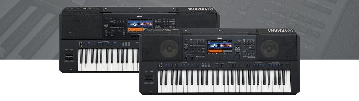 YAMAHA PSRSX STAGE KEYBOARDS - PRE-ORDER NOW - CLICK HERE